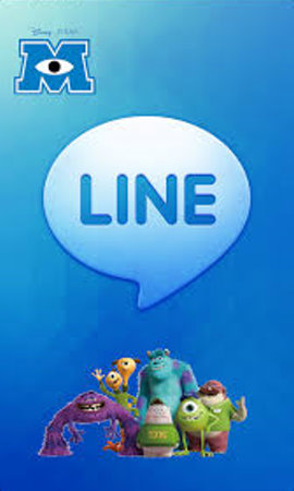 line theme monster