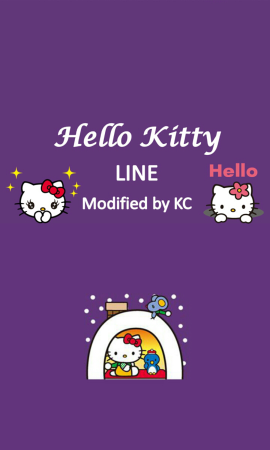 line theme down kc kitty