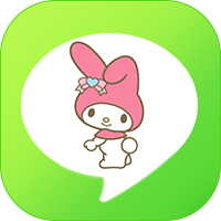 LINE theme icon - Melody