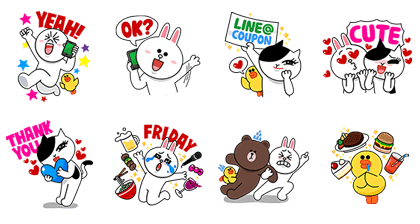 line stickers  2332
