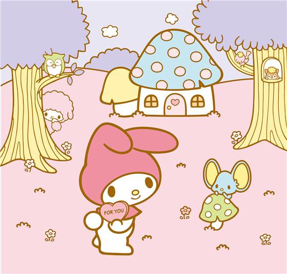 美樂蒂夢幻蘑菇屋