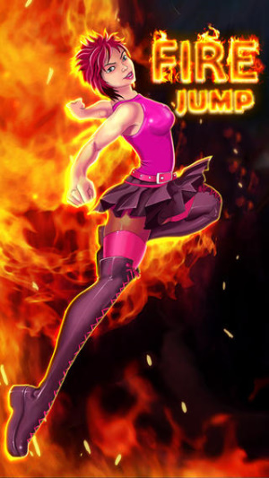 iOS限免、限時免費軟體遊戲APP-Fire Jump 1