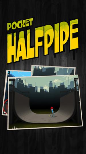 iOS限免、限時免費軟體遊戲APP-Pocket HalfPipe 1